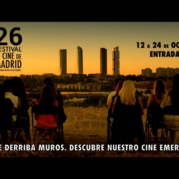 MONTAJE SPOT OFICIAL 26 FESTIVAL DE CINE DE MADRID PNR. IMAGERIAL PRODUCCIONES.