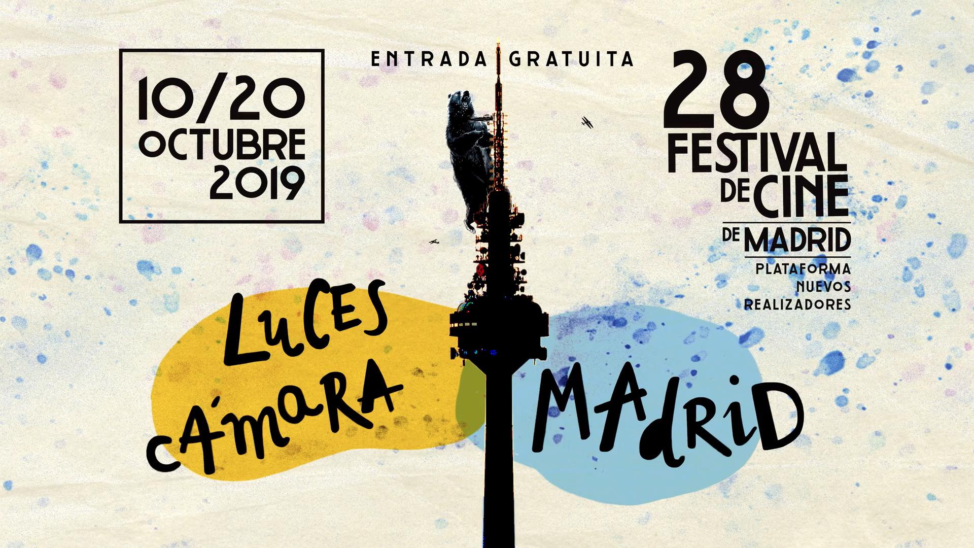 MOTION GRAPHICS CARTELA FESTIVAL DE CINE DE MADRID PNR. IMAGERIAL PRODUCCIONES.
