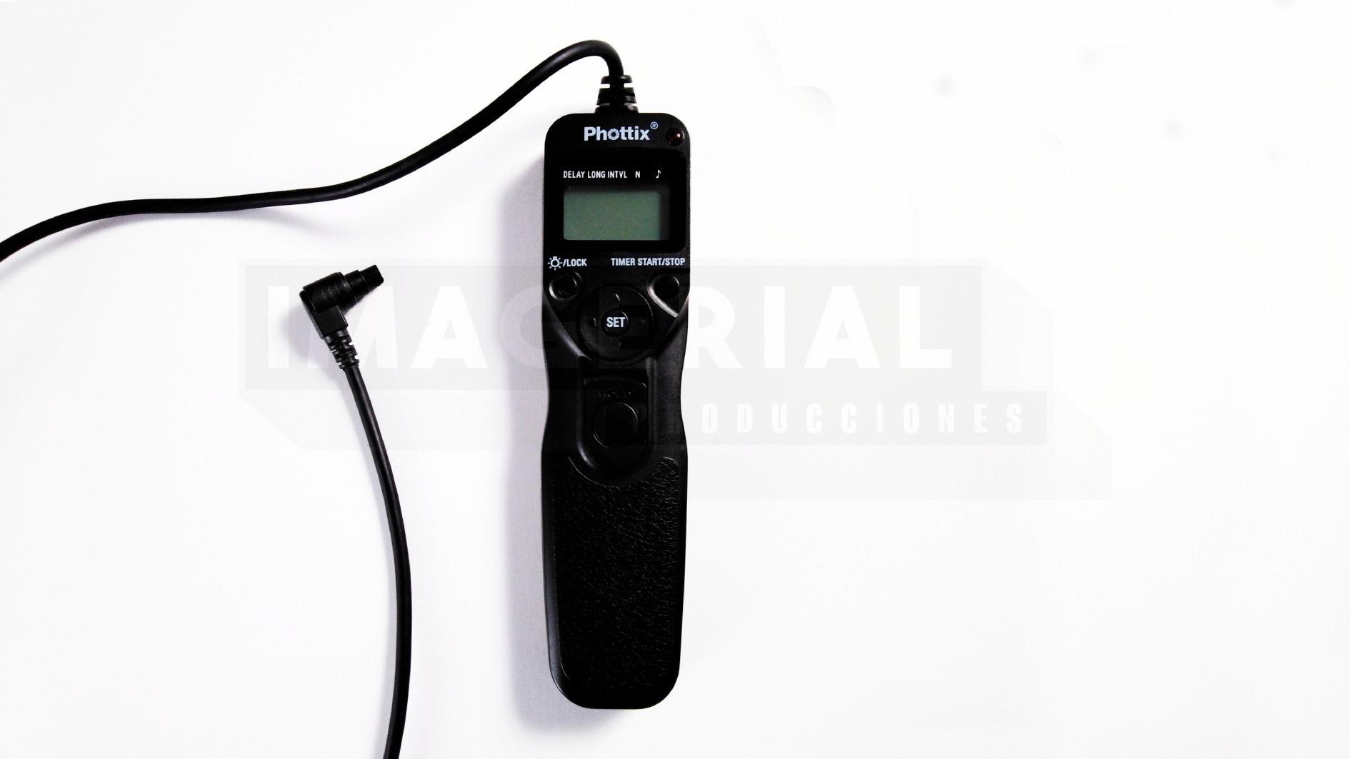 TEMPORIZADOR PHOTTIX TR90-C8. IMAGERIAL PRODUCCIONES ALQUILER DE EQUIPOS AUDIOVISUALES EN MADRID.