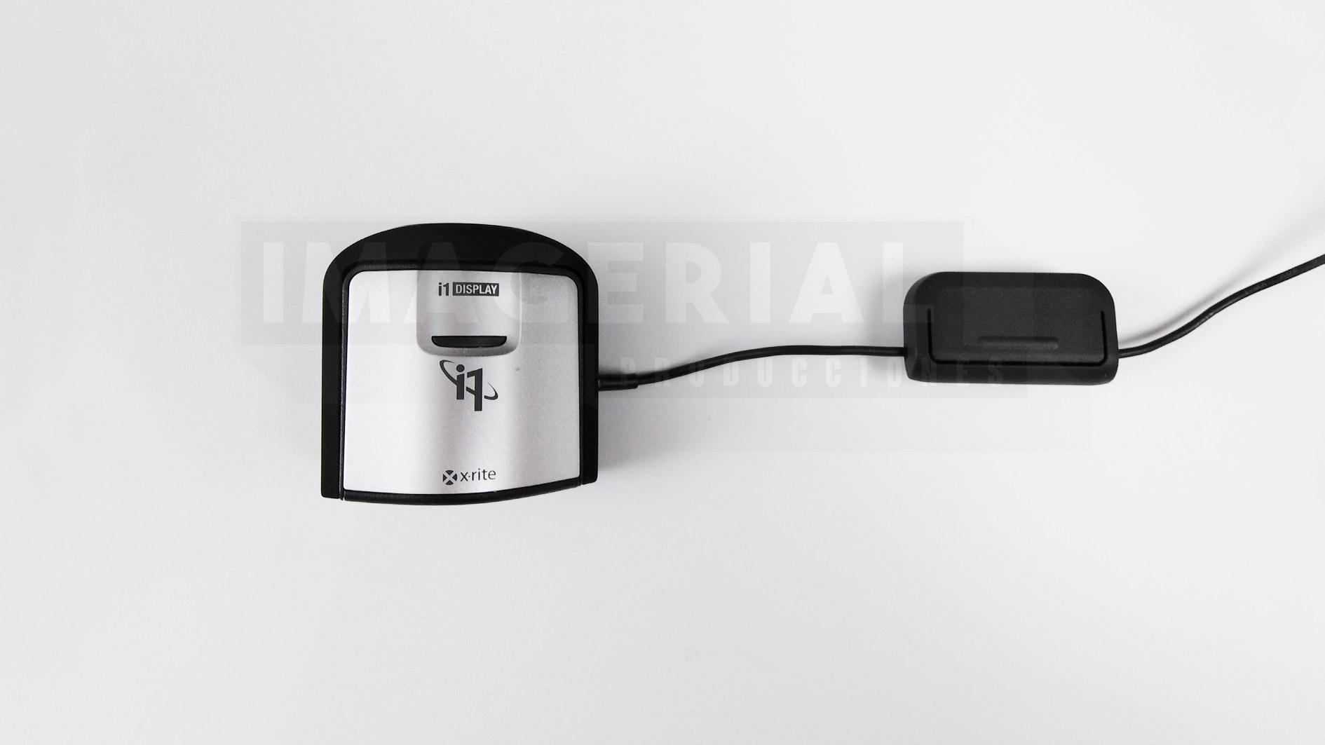 X-RITE I1DISPLAY PRO. IMAGERIAL PRODUCCIONES ALQUILER DE EQUIPOS AUDIOVISUALES EN MADRID.