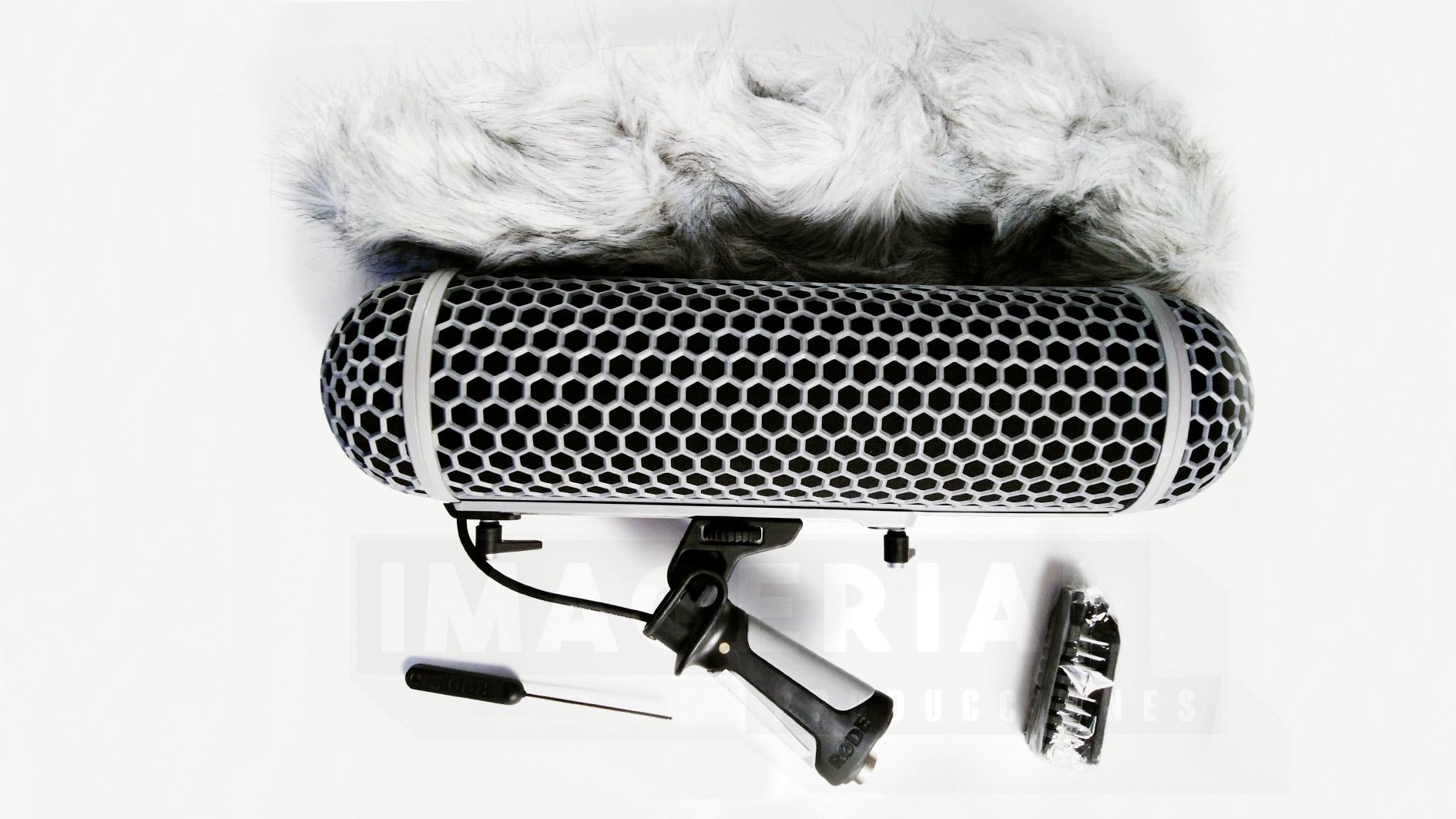 RODE BLIMP. IMAGERIAL PRODUCCIONES ALQUILER DE EQUIPOS AUDIOVISUALES EN MADRID.